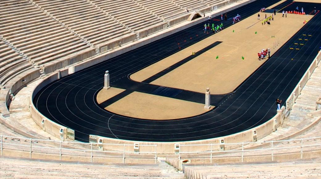 Panathinaiko-Stadion mit einem Sportevent