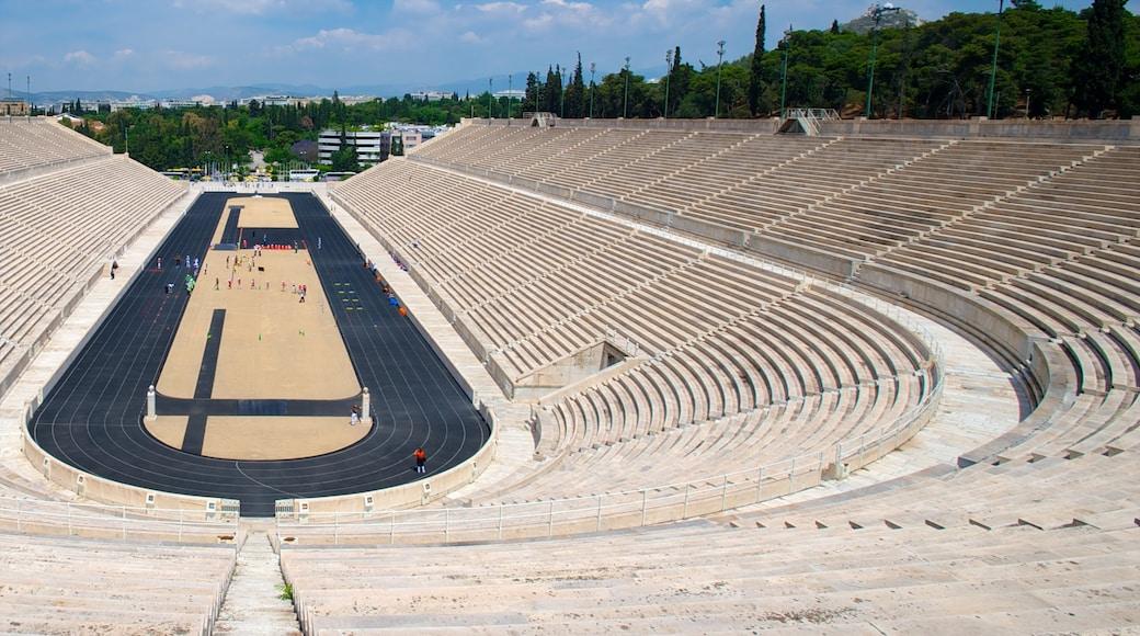 Panathinaiko-Stadion welches beinhaltet Sportevent