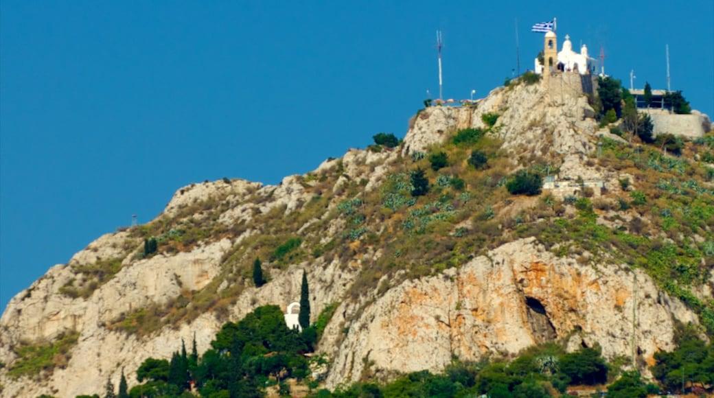 Mount Lycabettus showing mountains
