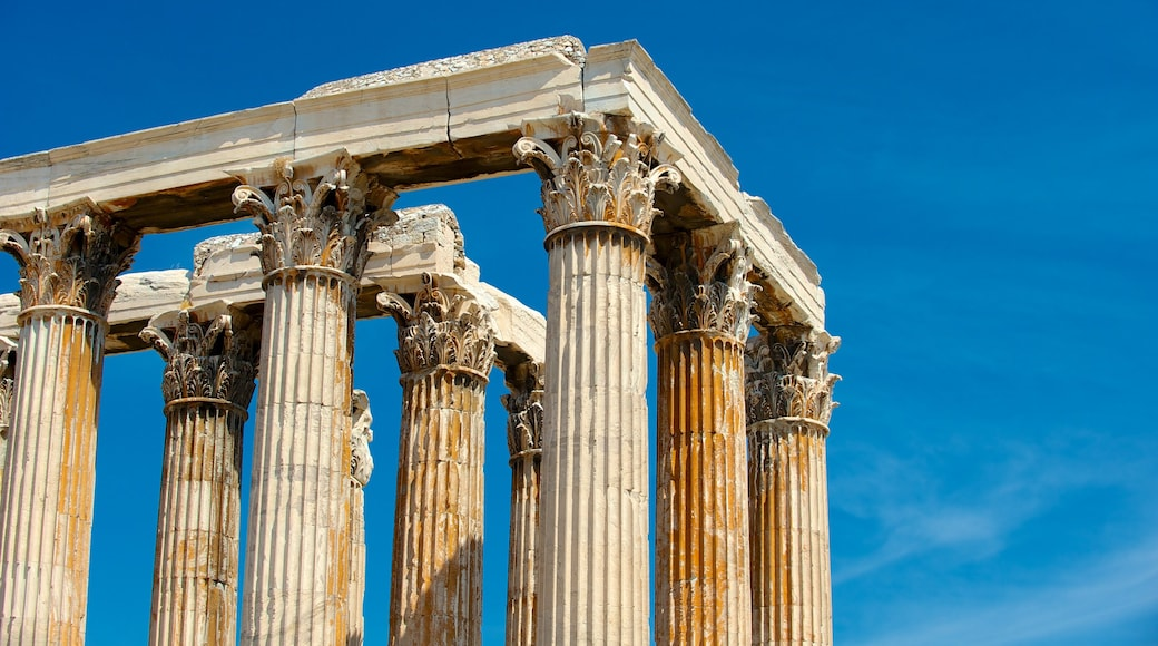 Temple of Olympian Zeus showing heritage architecture, a temple or place of worship and heritage elements