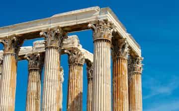 Kuil Zeus Olympia Pusat Kota Athena Expedia Co Id