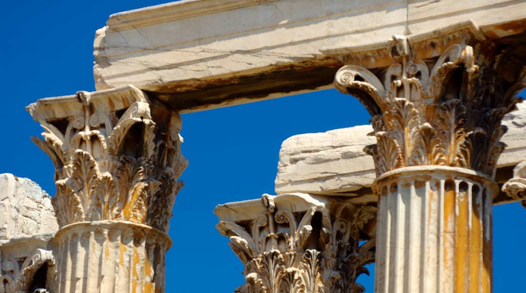 Temple of Olympian Zeus which includes heritage architecture and a temple or place of worship