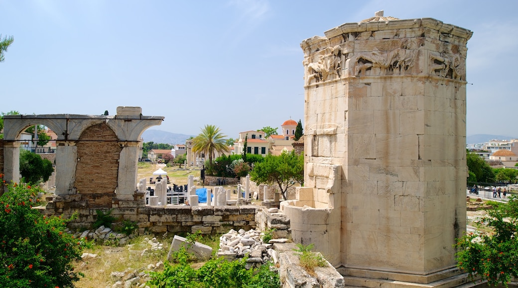 Athens which includes a ruin and heritage elements