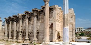 Athen welches beinhaltet Geschichtliches, Gebäuderuinen und historische Architektur