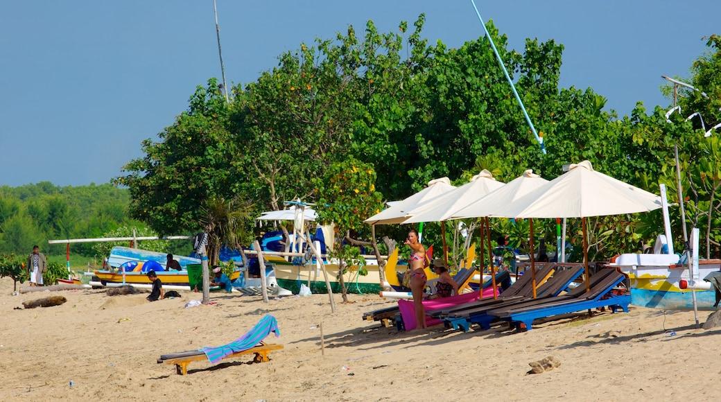 Sanur Beach featuring a sandy beach
