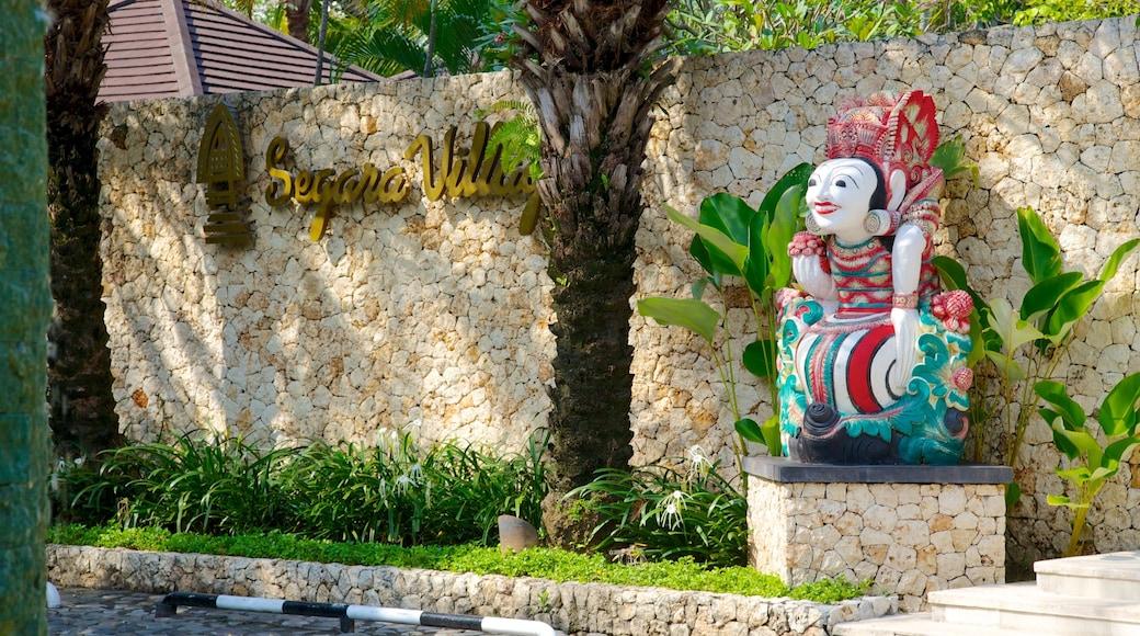 Kartika Plaza which includes outdoor art