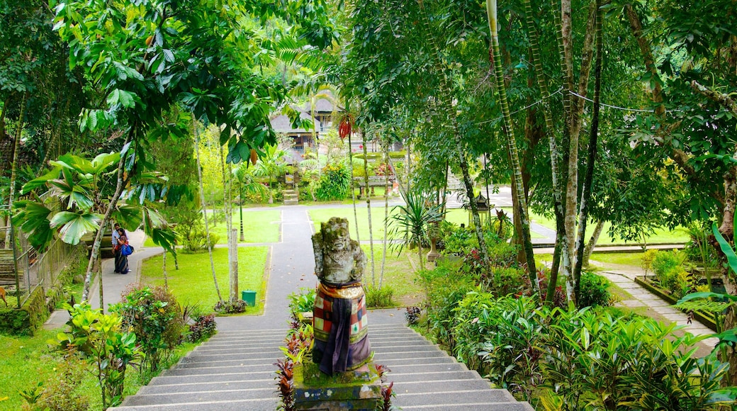 Gunung Kawi Temple which includes a park and a temple or place of worship