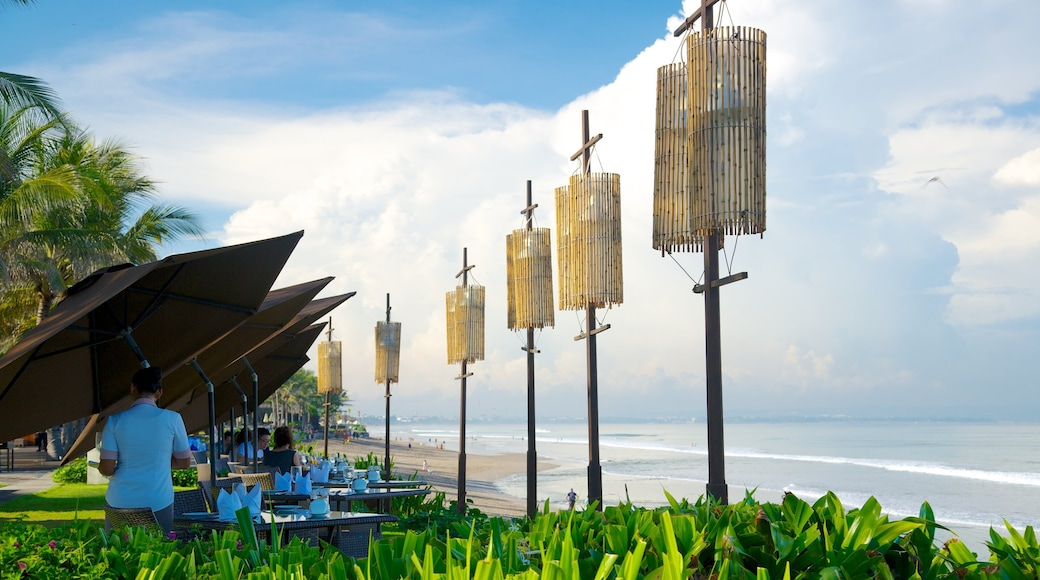 Seminyak featuring tropical scenes and general coastal views