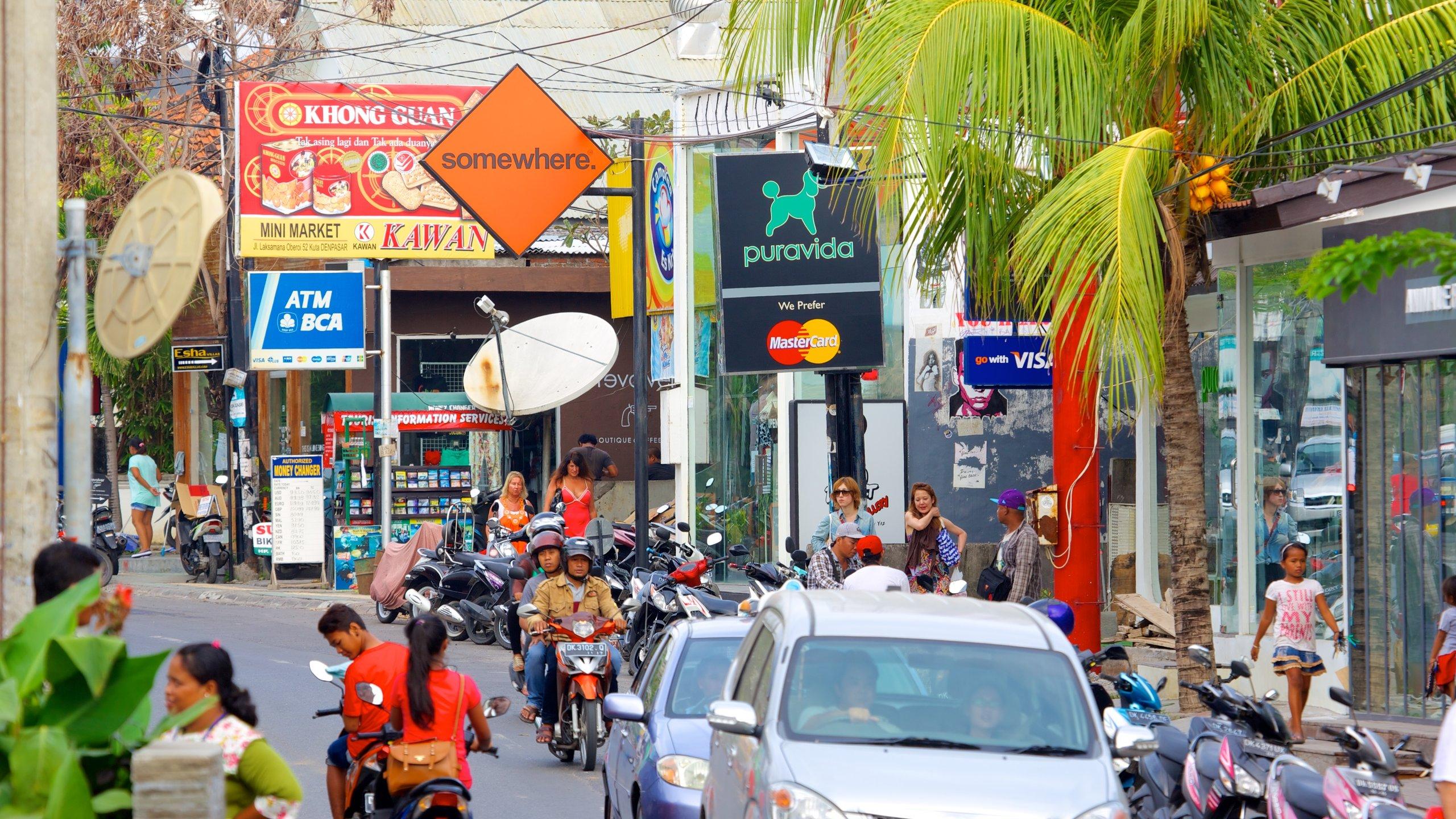 Eat Street, Seminyak, Bali, Indonesia