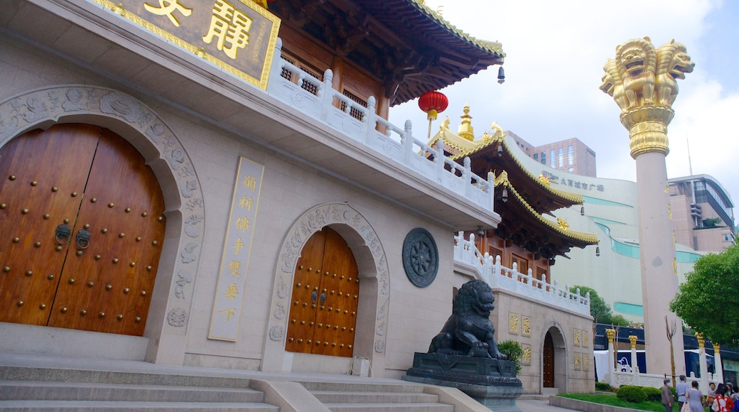 靜安寺 呈现出 宗教方面 和 廟宇或禮拜堂