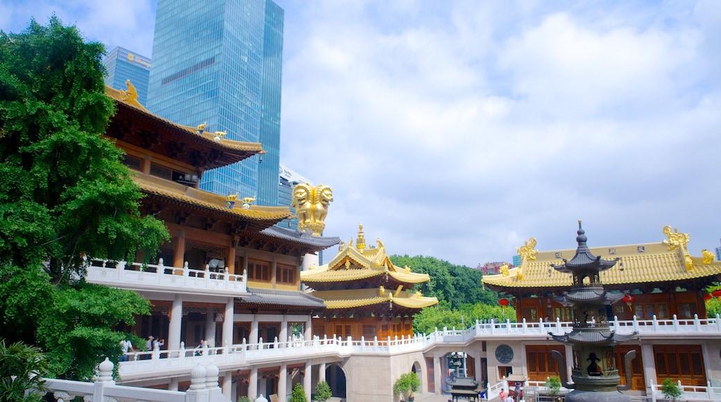 靜安寺 其中包括 城市 和 廟宇或禮拜堂