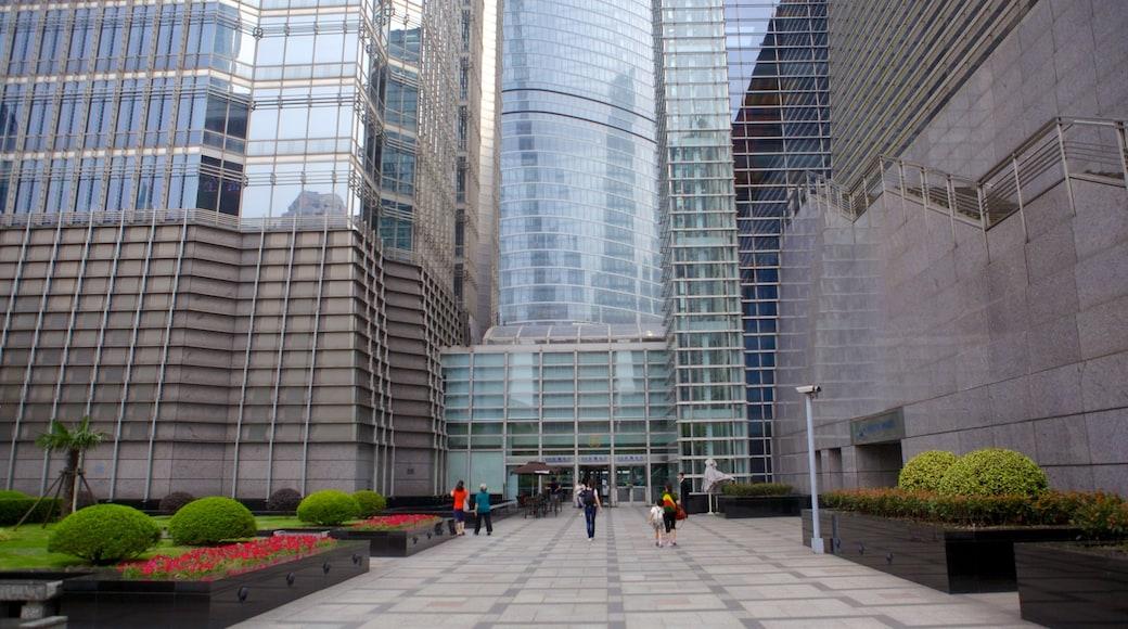 金茂大廈 呈现出 城市
