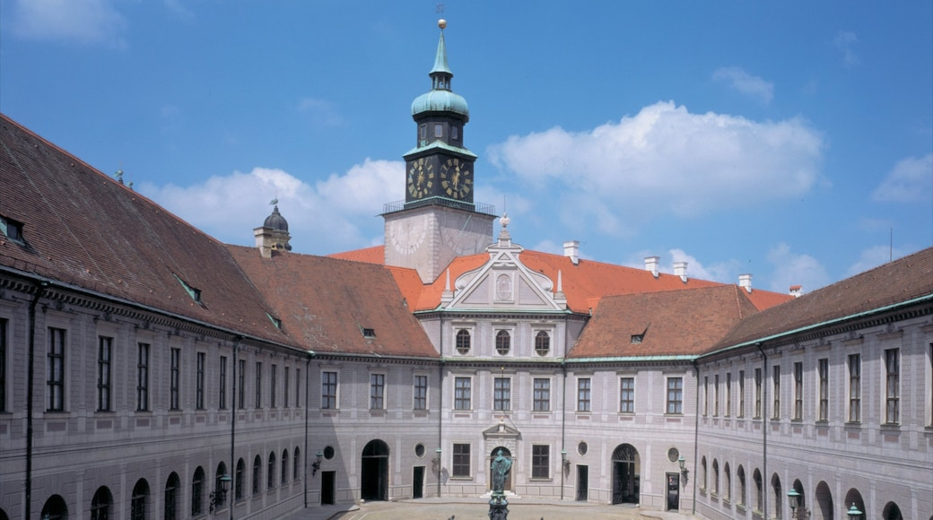 Residenz which includes chateau or palace and a square or plaza
