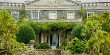 Mount Stewart House and Gardens showing a park, a house and heritage architecture