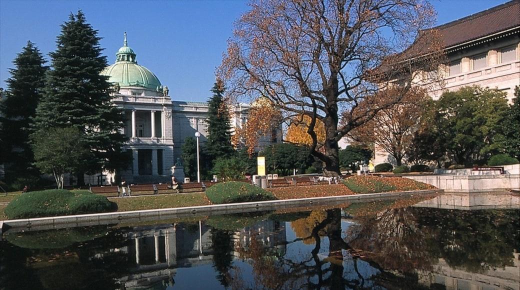 東京國立博物館 设有 池塘