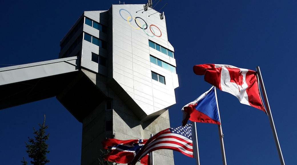Canada Olympic Park which includes modern architecture