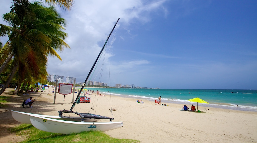 Isla Verde showing sailing, a sandy beach and boating
