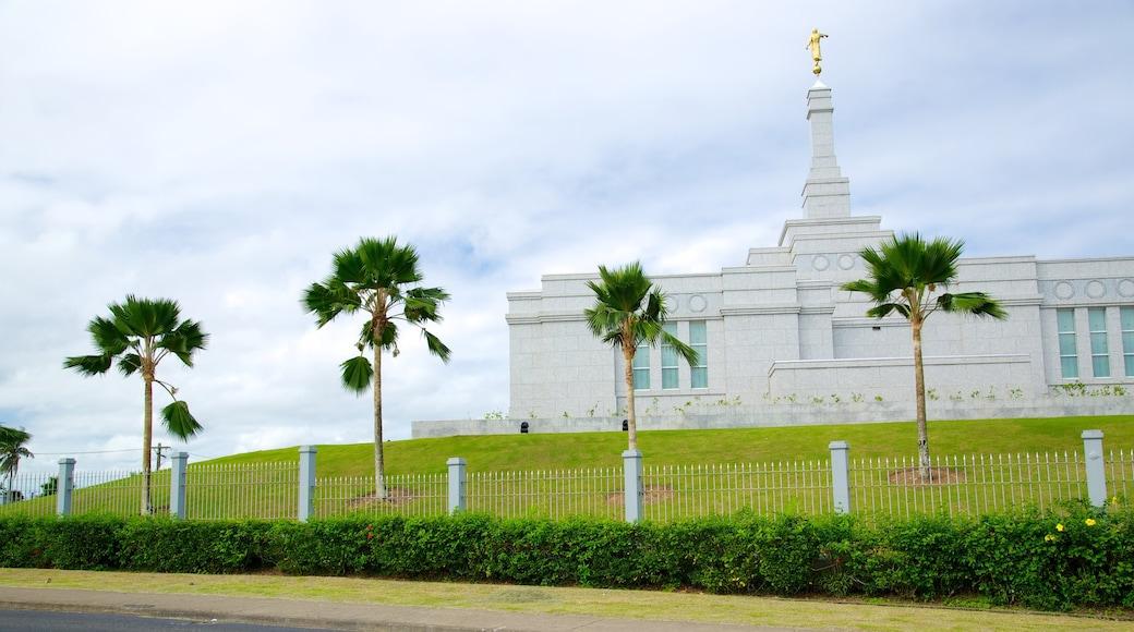 Suva welches beinhaltet Kirche oder Kathedrale, Geschichtliches und Park