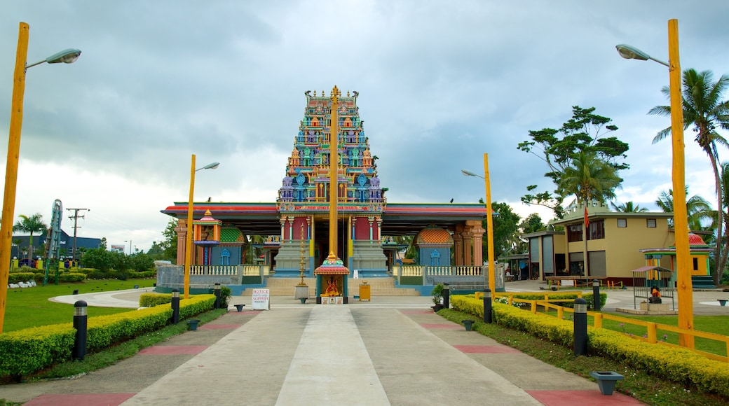 Sri Siva Subramaniya Temple featuring religious elements and a temple or place of worship
