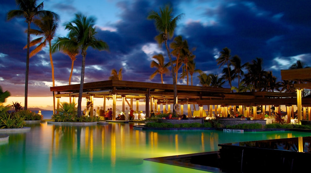 Fiji featuring a river or creek, a luxury hotel or resort and tropical scenes