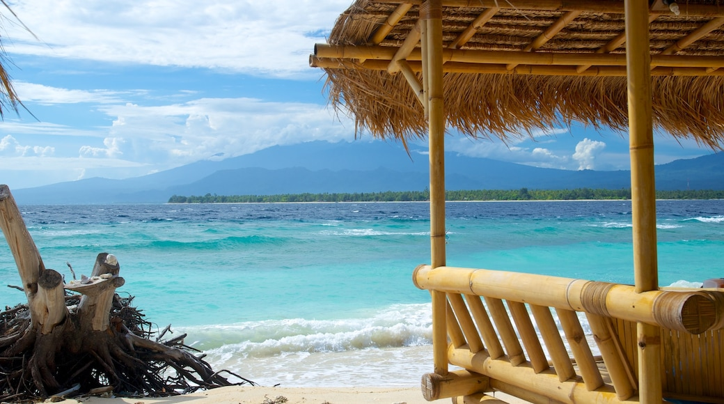 Gili Islands featuring a sandy beach and tropical scenes