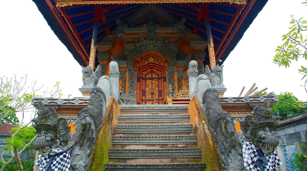 Mayura Temple and Park which includes a temple or place of worship and religious elements