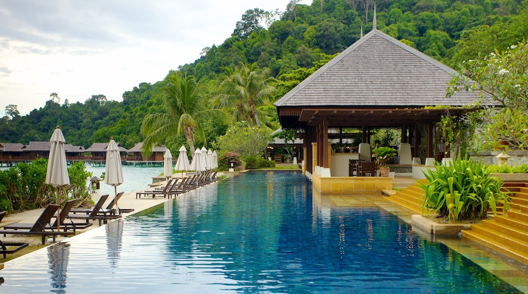 Pangkor Laut featuring a pool and a luxury hotel or resort