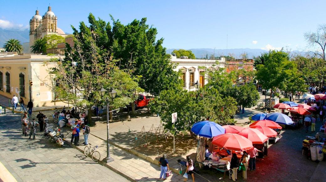 Oaxaca mostrando una ciudad