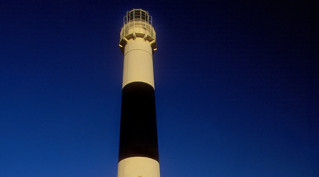 Absecon Lighthouse featuring a lighthouse