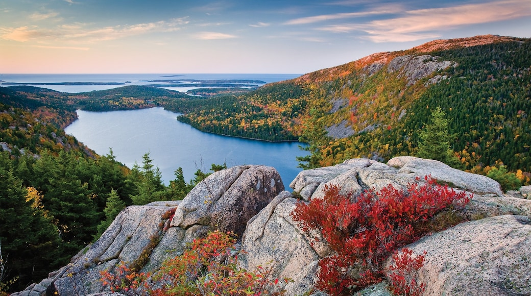 Bar Harbor featuring general coastal views, landscape views and mountains
