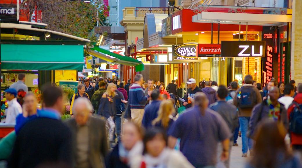 蘭道購物中心街 其中包括 購物, 城市 和 街道景色