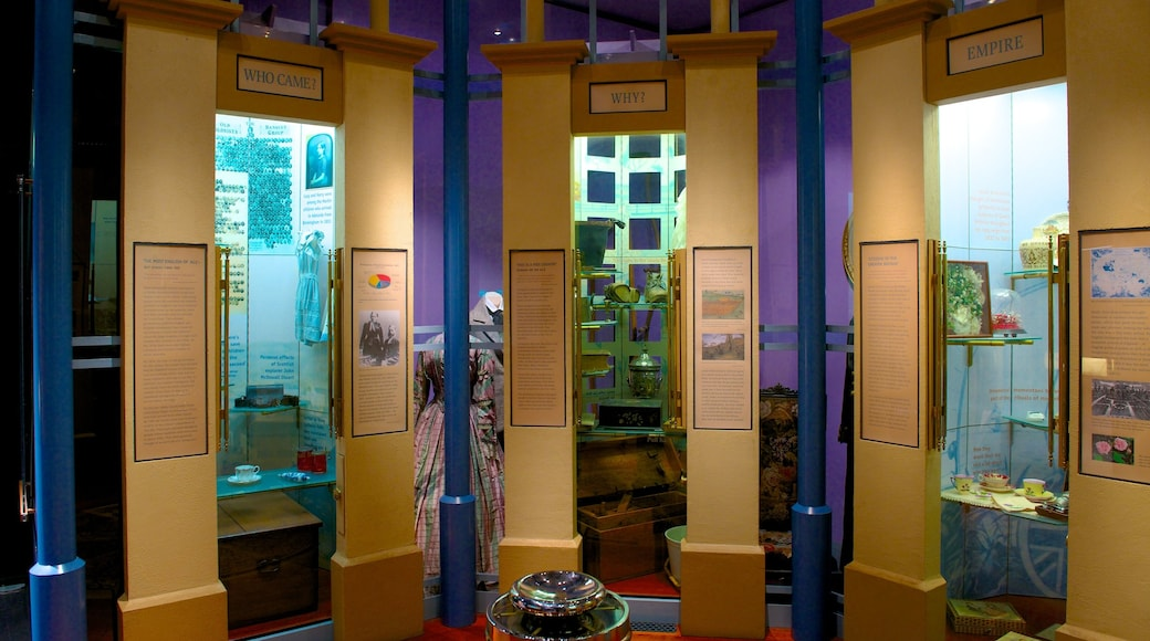 Migration Museum which includes interior views
