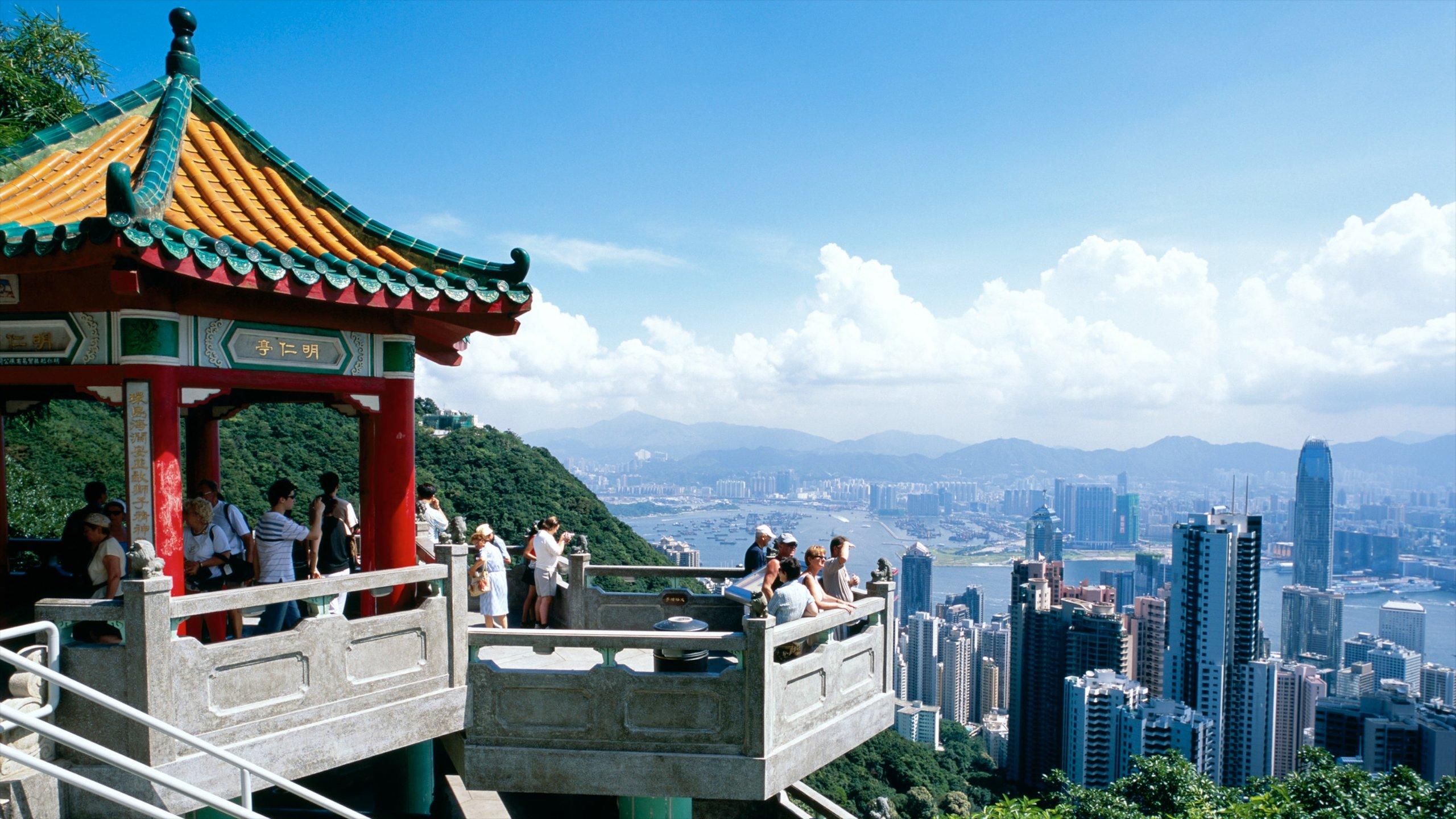 Victoria Peak Tower, Hong Kong, RAE de Hong Kong