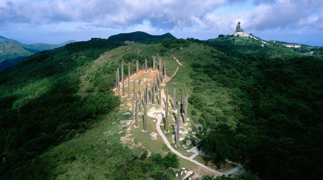 Big Buddha featuring mountains