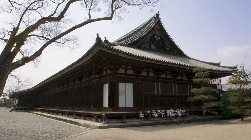 三十三間堂寺 呈现出 廟宇或禮拜堂 和 宗教方面