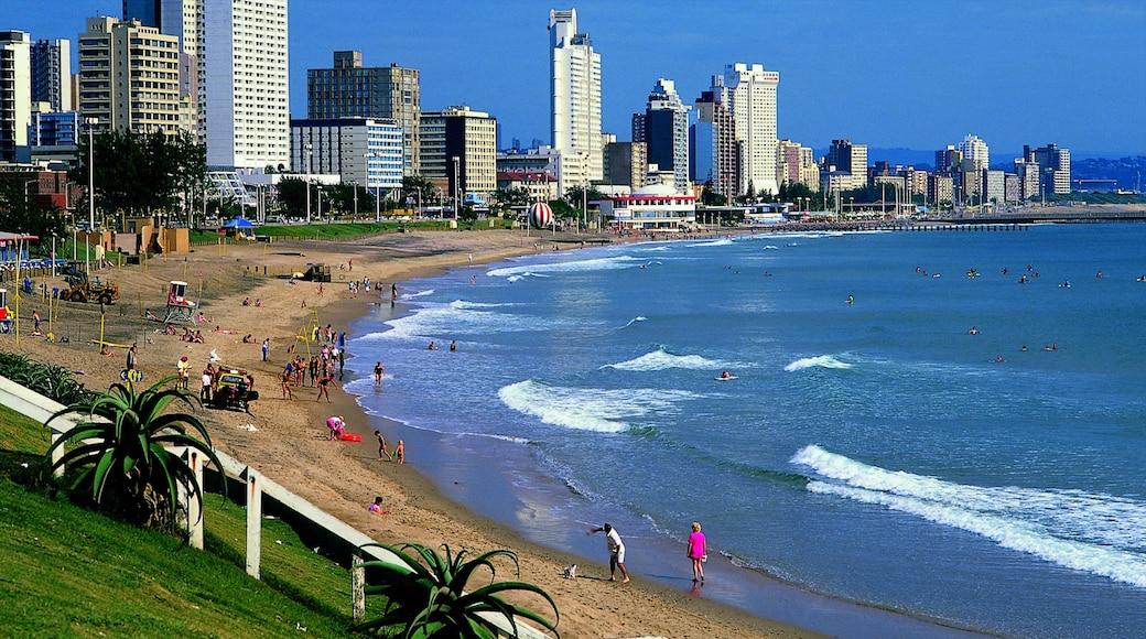 Durban das einen Bucht oder Hafen, allgemeine Küstenansicht und Strand