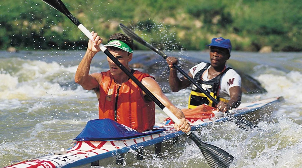 Pietermaritzburg featuring kayaking or canoeing, a sporting event and rapids