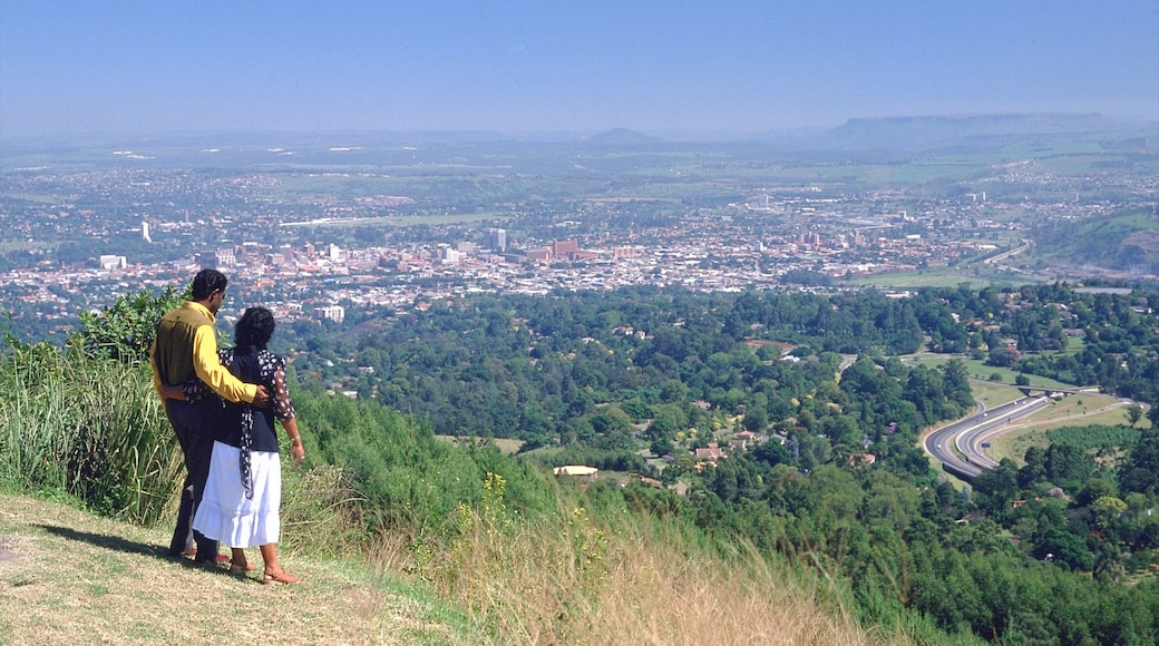 Pietermaritzburg featuring hiking or walking, views and a city