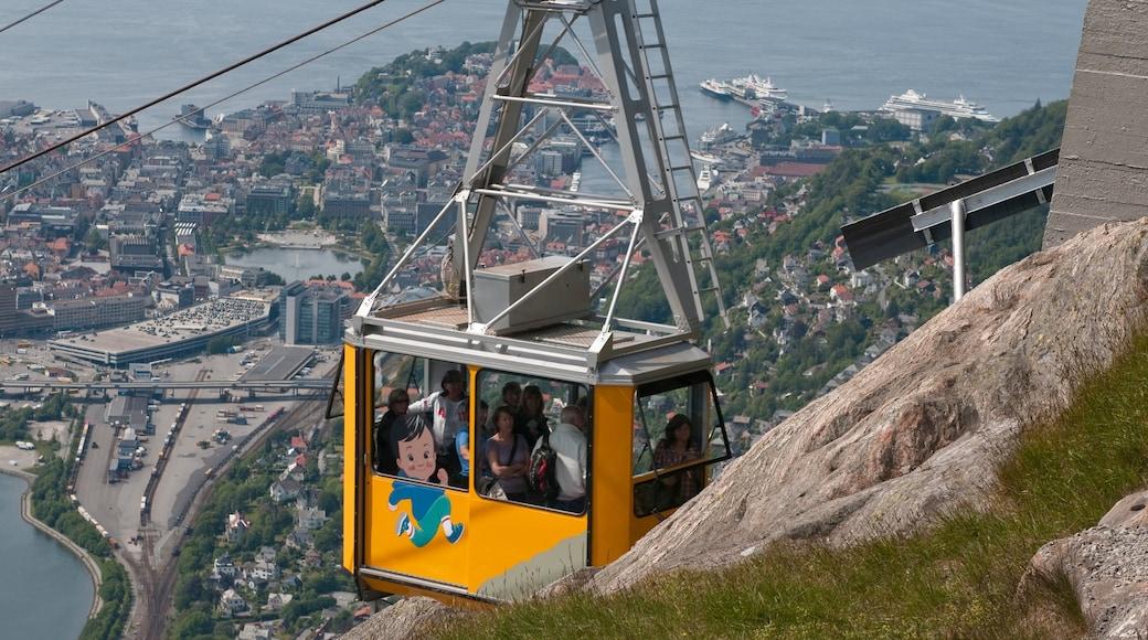 Ulriken 纜車 设有 纜車