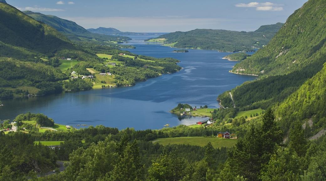 特隆赫姆 呈现出 綜覽海岸風景, 山水美景 和 山