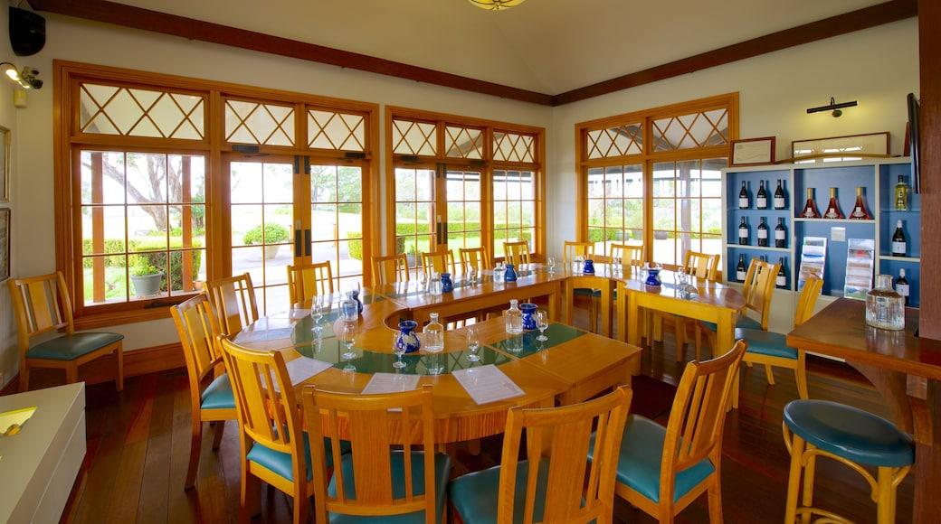Audrey Wilkinson Winery showing interior views