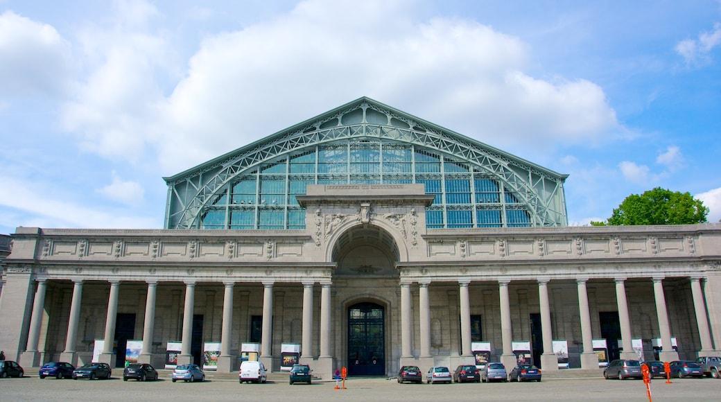 Jubelpark das einen historische Architektur