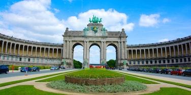 Jubelpark das einen historische Architektur und Park