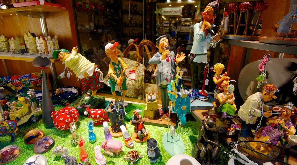 Galeries Royales Saint-Hubert das einen Märkte und Innenansichten