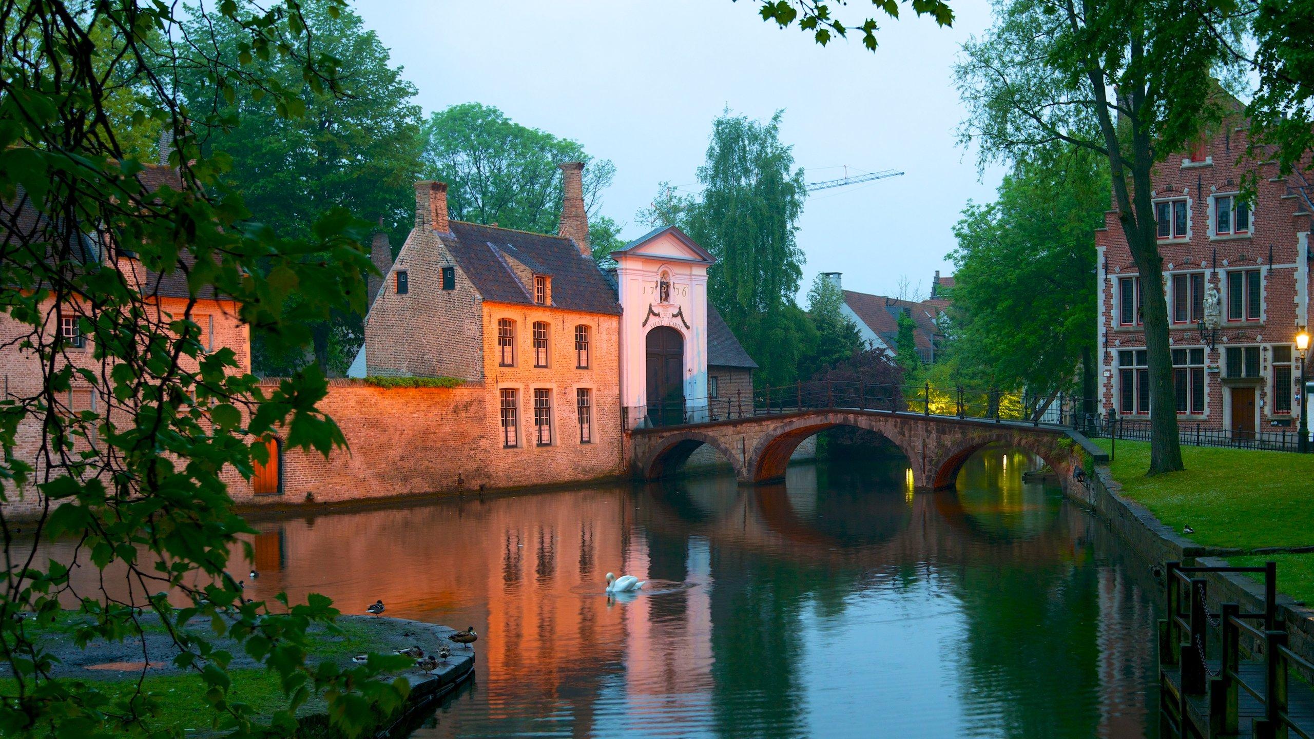 Beginenhof, Brügge, Bezirk Flandern, Belgien
