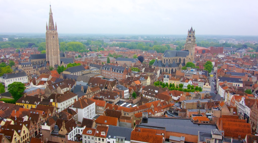 Bruges Belfry featuring heritage architecture, a church or cathedral and a city