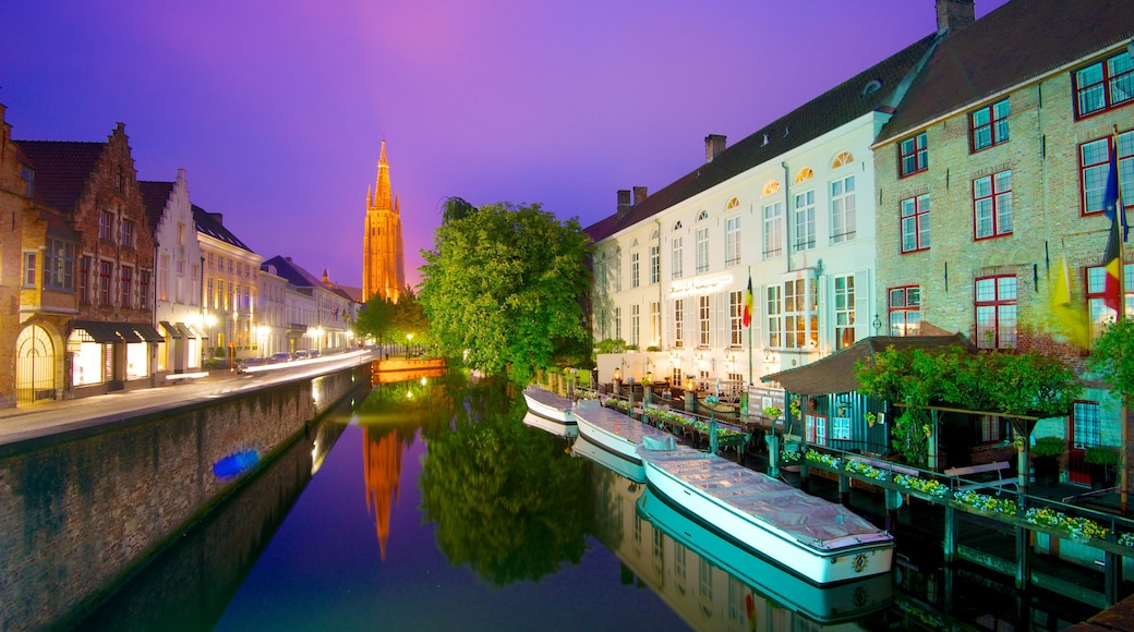 Bruges showing a house, a city and cbd
