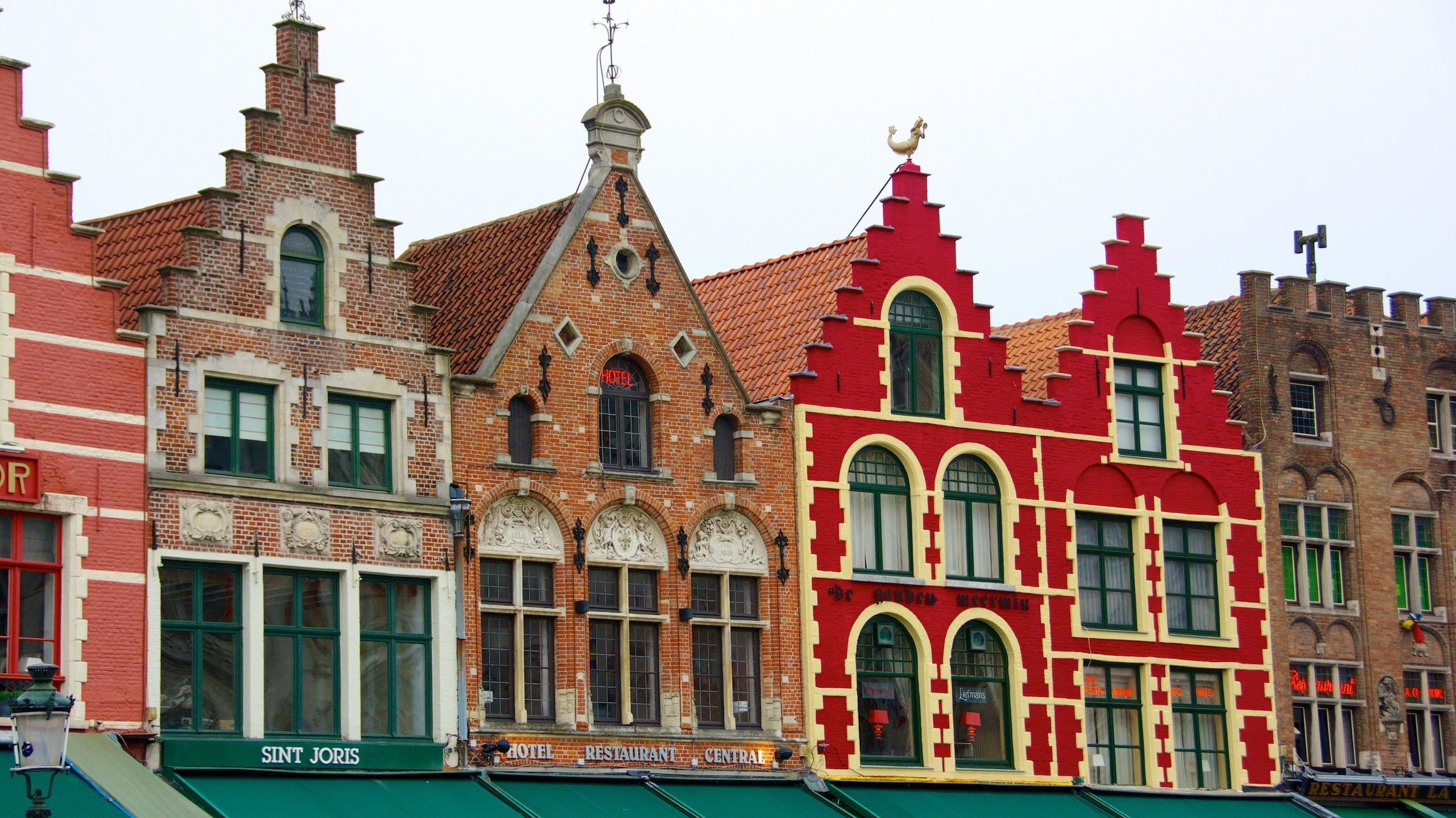 Grote Markt, Brügge, Bezirk Flandern, Belgien