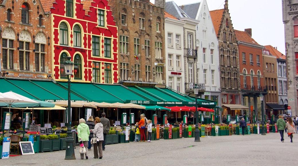 Grote Markt toont historische architectuur, een stad en markten