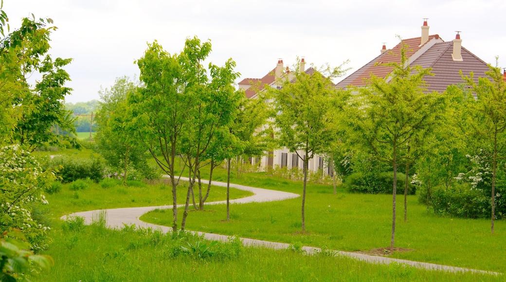 Magny-le-Hongre ofreciendo un parque